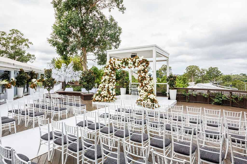 Victoria Park Functions Marquee Wedding Venue Ceremony