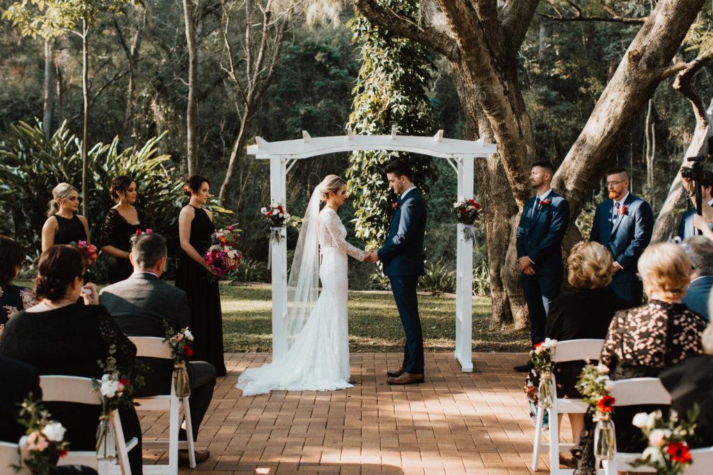 Jacaranda Treet Bundaleer Rainforest Wedding Venue Location