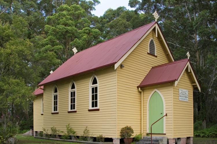 St Oswalds Church Byron Bay