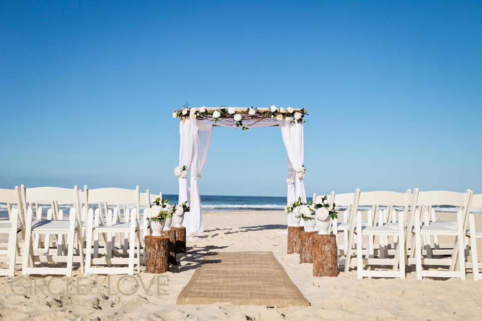 Wedding in the sunshine coast moffat beach