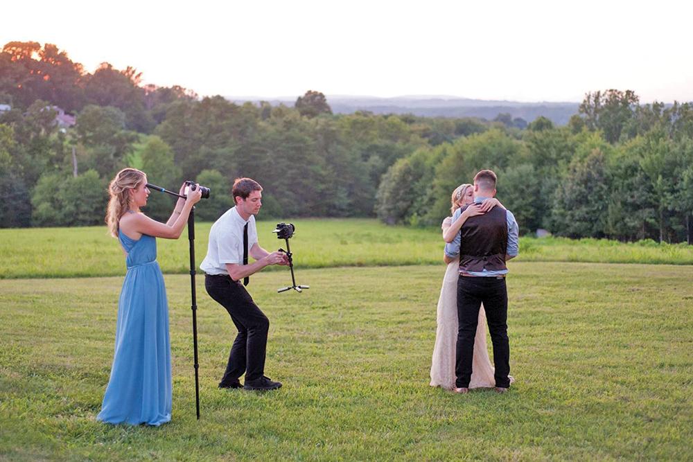Two Wedding Videographers