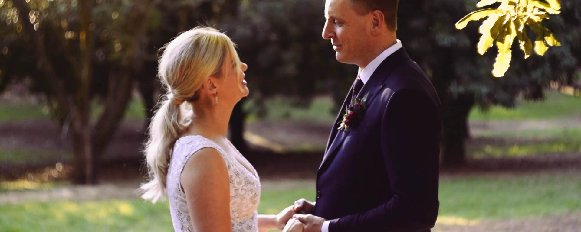 amelia and chris byron bay wedding film